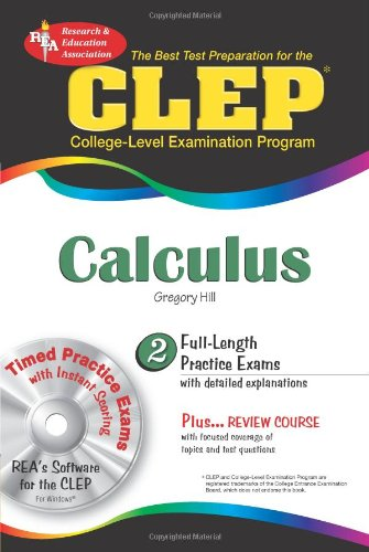 9780738603056: CLEP® Calculus (CLEP Test Preparation)
