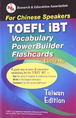 9780738603117: TOEFL iBT Vocabulary Flashcard Book (Taiwan Edition) (English as a Second Language Series)