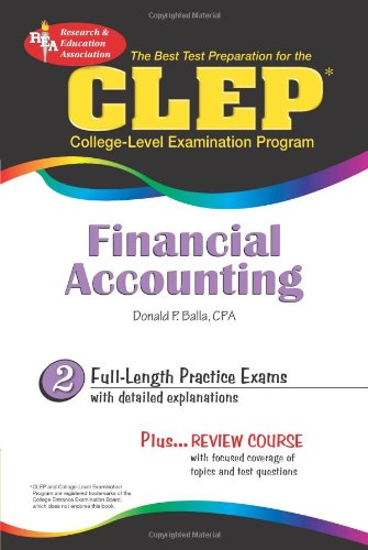 9780738603131: CLEP® Financial Accounting (CLEP Test Preparation)