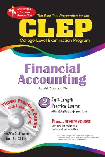 9780738603148: CLEP Financial Accounting w/ CD-ROM (CLEP Test Preparation)