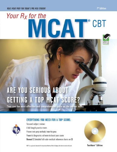 9780738603872: MCAT (Medical College Admission Test) w/CD-ROM 7th Ed.: Your Rx for the (MCAT Test Preparation)