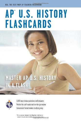 AP® U.S. History Flashcard Book (Advanced Placement (AP) Test Preparation) (0738603945) by Olson, Kwynn; Bach, Mark; Advanced Placement; US History Study Guides