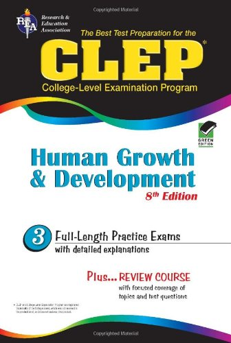 9780738603957: CLEP Human Growth and Development 8th Ed. (CLEP Test Preparation)