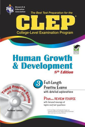 9780738603964: CLEP Human Growth and Development 8th Ed. (CLEP Test Preparation)