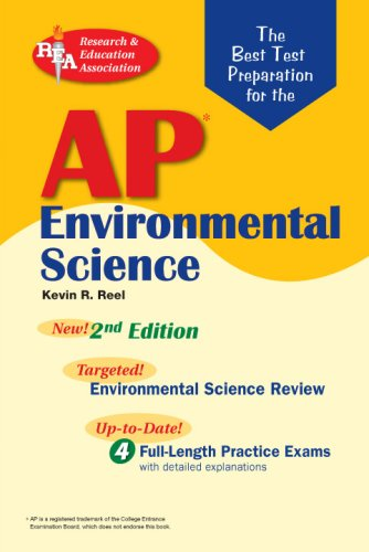 9780738604244: AP Environmental Science (REA) - The Best Test Prep for: 2nd Edition (Advanced Placement (AP) Test Preparation)