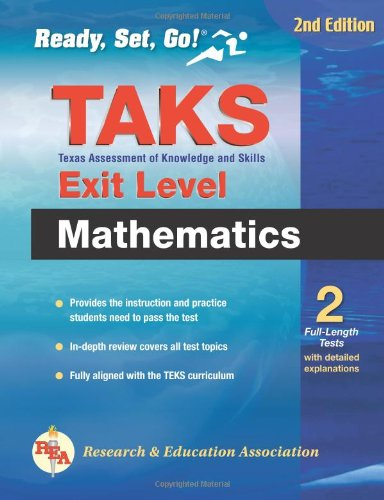 9780738604442: Texas TAKS Exit-Level Mathematics 2nd Edition