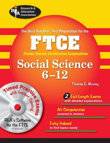 9780738604565: FTCE Social Science 6-12 (FTCE Teacher Certification Test Prep)