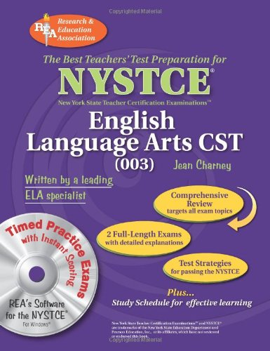 9780738604572: NYSTCE CST English (003) w/ CD-ROM (NYSTCE Teacher Certification Test Prep)