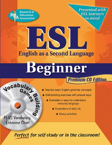 9780738604671: ESL Beginner with Vocab Builder & Vocab Enhancer w/CD-ROM (English as a Second Language Series)