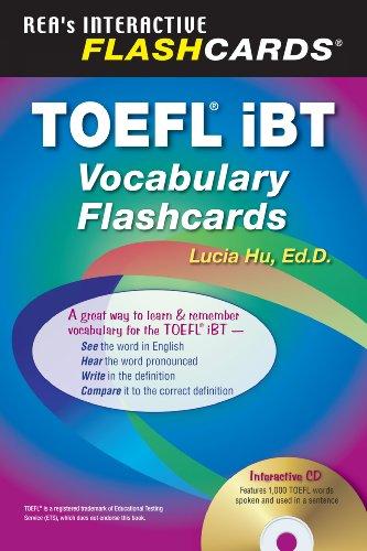 9780738605012: TOEFL iBT Vocabulary Flashcard Book w/ Audio CD (English as a Second Language Series)