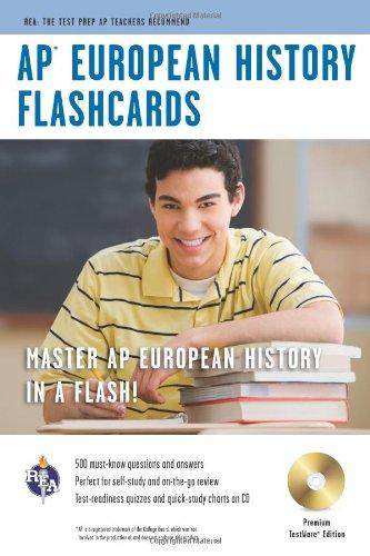 9780738605081: AP® European History Premium Edition Flashcard Book (Advanced Placement (AP) Test Preparation)