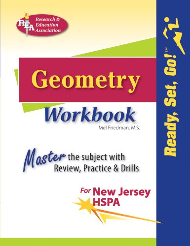 9780738605227: New Jersey HSPA Geometry Workbook (Mathematics Learning and Practice)