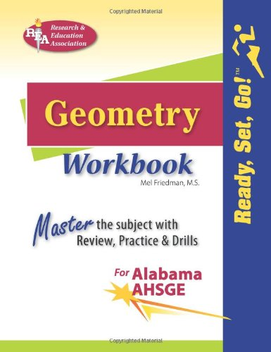9780738605258: AL AHSGE Geometry Workbook (Mathematics Learning and Practice)