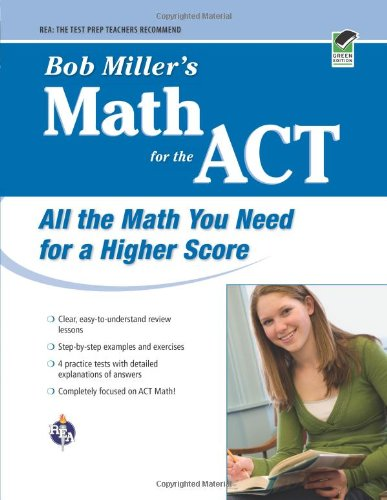 9780738605272: Bob Miller's Math for the ACT