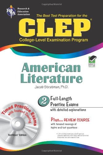 9780738605593: CLEP® American Literature w/CD (CLEP Test Preparation)
