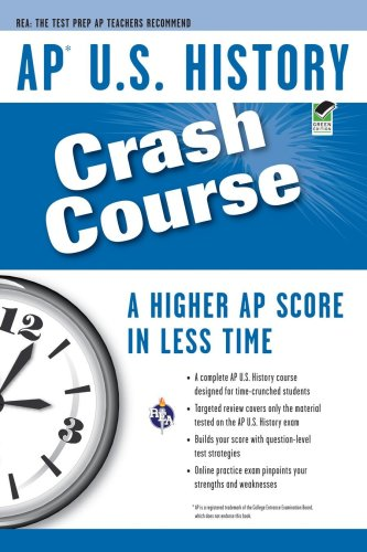 9780738605609: AP U.S. History Crash Course (Ap Crash Course (Rea))
