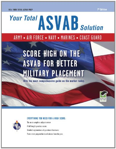 9780738606422: ASVAB 7th Edition: Your Total Solution (Military (ASVAB) Test Preparation)