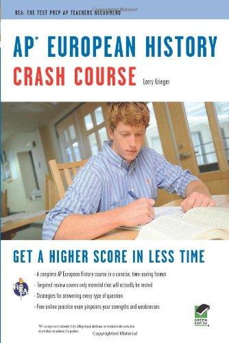 9780738606613: AP® European History Crash Course Book + Online (Advanced Placement (AP) Crash Course)