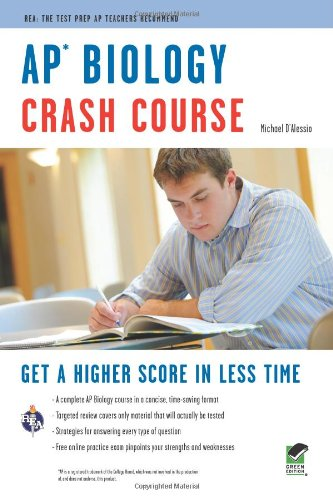 AP Biology Crash Course (Advanced Placement (AP) Crash Course) (0738606626) by D'Alessio, Michael