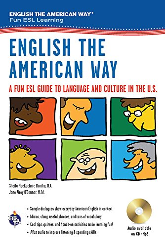 9780738606767: English the American Way: A Fun ESL Guide to Language & Culture in the U.S. w/Audio CD & MP3 (English as a Second Language Series)