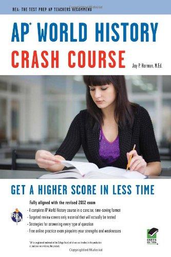 9780738606965: AP® World History Crash Course Book + Online (Advanced Placement (AP) Crash Course)