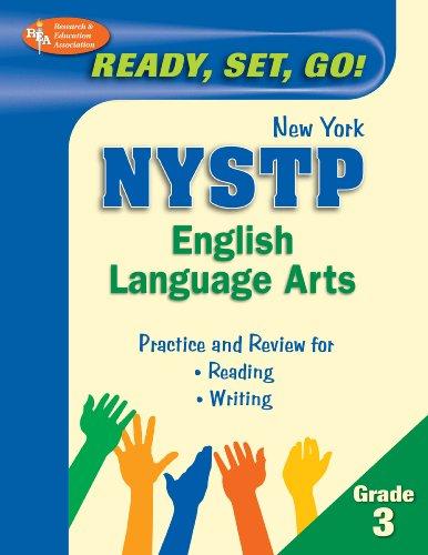 9780738607122: New York State Grade 3 English Language Arts Test (REA) (New York State Elementary Test Prep)