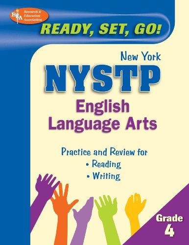 9780738607146: NY State Grade 4 English Language Arts (Rea) - Ready, Set, Go!