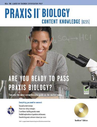 9780738607740: Praxis II Biology 0235 w/CD-ROM (PRAXIS Teacher Certification Test Prep)