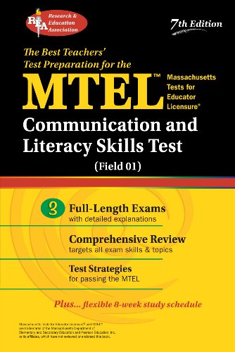 MTEL Communication and Literacy Skills Test (Field 01) (MTEL Teacher Certification Test Prep): Rae ...
