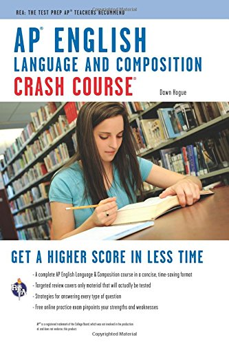 9780738607832: AP® English Language & Composition Crash Course Book + Online (Advanced Placement (AP) Crash Course)