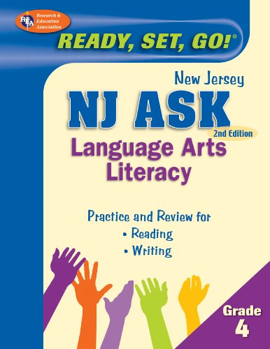 9780738607986: NJ ASK Grade 4 Language Arts Literacy (New Jersey ASK Test Preparation)
