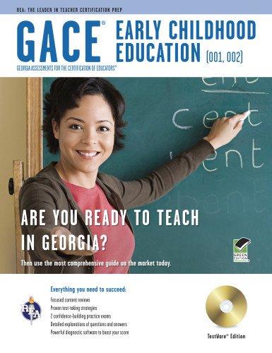 9780738608143: GACE Early Childhood Education (001), (002) w/ CD-ROM (Georgia GACE Test Preparation)