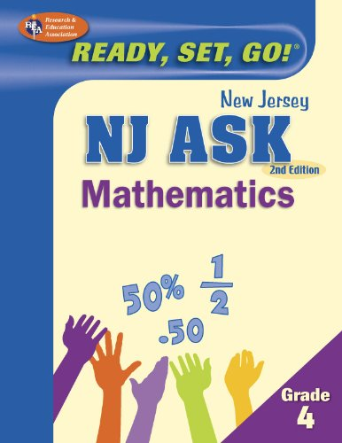 9780738608167: NJ ASK Grade 4 Mathematics (New Jersey ASK Test Preparation)