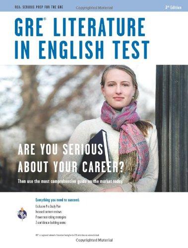 9780738608372: GRE Literature in English (GRE Test Preparation)