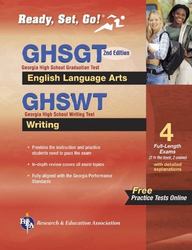 9780738608464: Georgia GHSGT ELA & GHSWT Writing with Online Practice Tests (Georgia GHSGT Test Preparation)