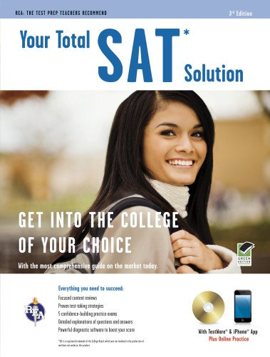SAT® w/CD: Your Total Solution (SAT PSAT ACT (College Admission) Prep) (0738608696) by Mel Friedman M.S.; Robert Bell; Suzanne Coffield SAT Preparation Instructor; Dr. Anita Price Davis Ed.D.; George DeLuca SAT Skills Consultant;...