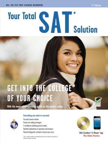 9780738608693: SAT® w/CD: Your Total Solution (SAT PSAT ACT (College Admission) Prep)