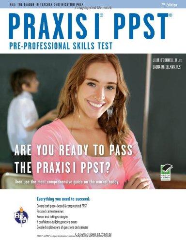 9780738608808: Praxis I PPST (Pre-Professional Skills Test) (PRAXIS Teacher Certification Test Prep)
