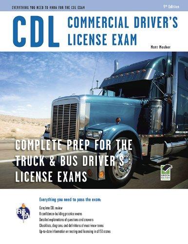 CDL - Commercial Driver's License Exam (Paperback): Matt Mosher