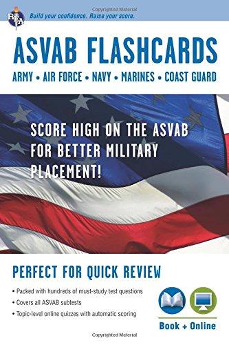 9780738609089: ASVAB Flashcard Book (Military (ASVAB) Test