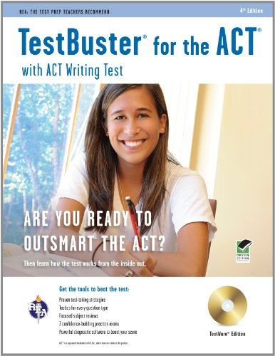 9780738609218: Testbuster for the ACT With ACT Writing Test: REA: The Test Prep Teachers Recommend, Testware Edition, Green Edition