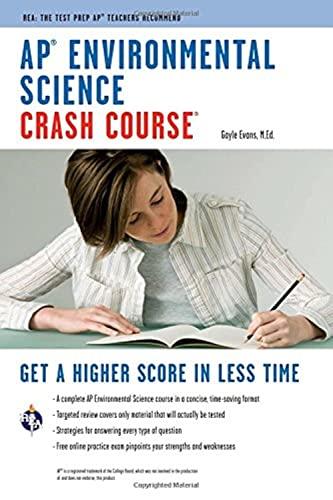 9780738609317: AP® Environmental Science Crash Course Book + Online (Advanced Placement (AP) Crash Course)
