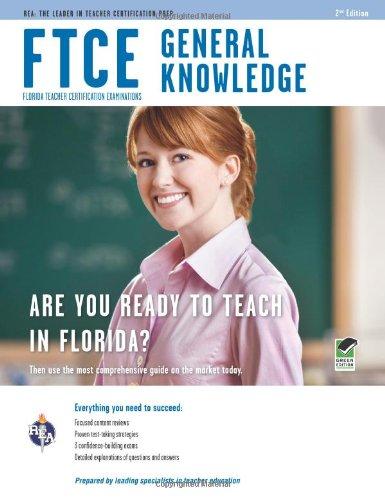 9780738609478: FTCE General Knowledge 2nd Ed. (FTCE Teacher Certification Test Prep)