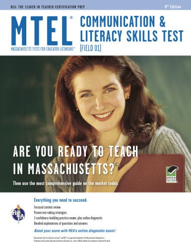 9780738609546: MTEL Communication & Literacy (Field 01) Book + Online (MTEL Teacher Certification Test Prep)