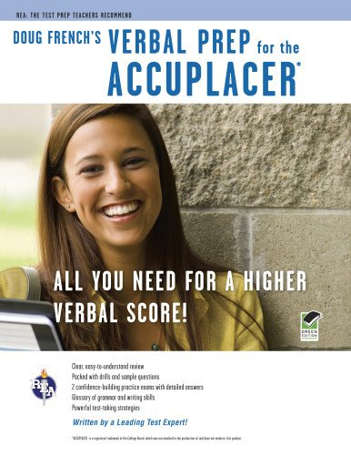 9780738609652: ACCUPLACER®: Doug French's Verbal Prep