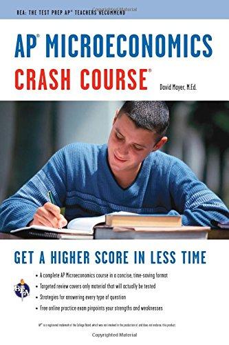 9780738609720: AP® Microeconomics Crash Course Book + Online (Advanced Placement (AP) Crash Course)