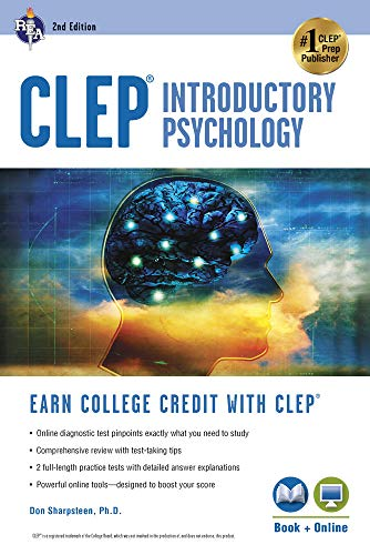 9780738610177: CLEP® Introductory Psychology Book + Online (CLEP Test Preparation)