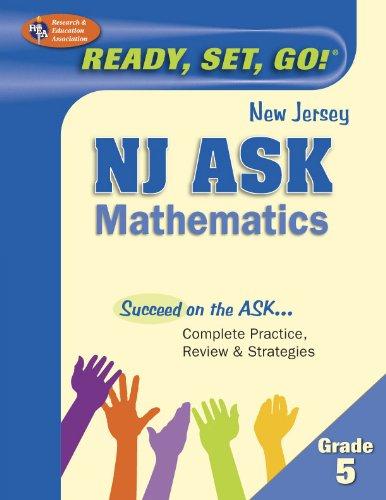 9780738610191: NJ ASK Grade 5 Mathematics (New Jersey ASK Test Preparation)