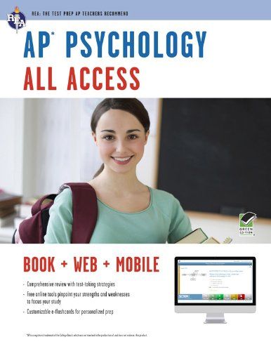 9780738610269: AP® Psychology All Access Book + Online + Mobile (Advanced Placement (AP) All Access)