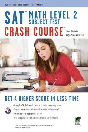 9780738610320: SAT Subject Test™: Math Level 2 Crash Course Book + Online (SAT PSAT ACT (College Admission) Prep)